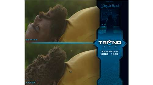 Most of The Visual effects  for the Egyptian series in Ramadan 2021 Done by Trend VFX (...