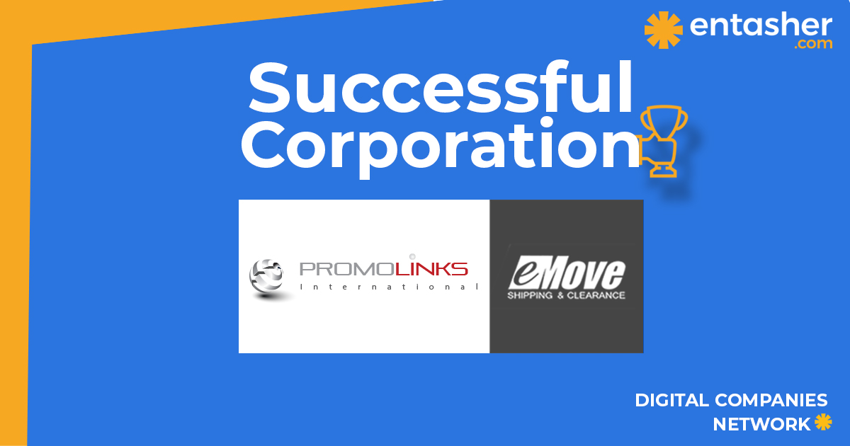 Promolinks and E move global to start cooperating in social media management through entasher.com