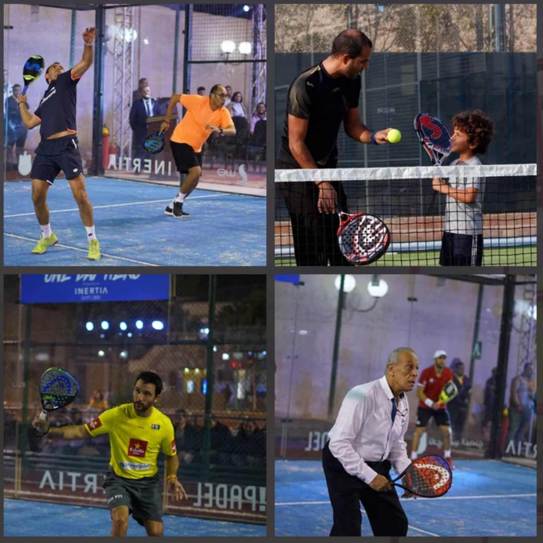 ARE YOU SAYING ANYONE CAN PLAY PADEL?