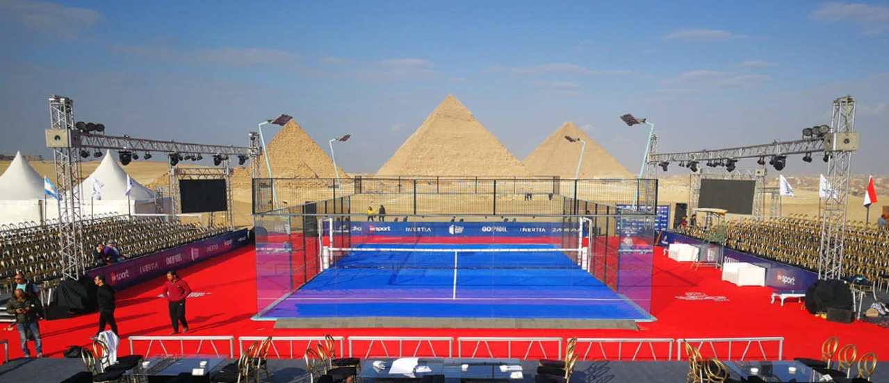 BUT WHO STARTED THE PADEL CRAZE HERE IN EGYPT THOUGH?