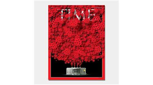 Time magazine october issue came up with creative cover page